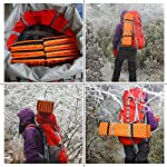 Outdoor Hiking Mountaineering Foam Camping Mat Sleeping Pad in Tent Dampproof Mattress Foam 14 Material: IXPE. Suitable for four seasons.100% brand new and high quality The egg cell shape is soft and comfortable, this shape does not change the weight of the situation greatly increases comfort. It's the best choice for people seeking sleep-any-where, on any-thing durability and comfort