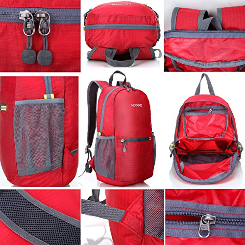 Lightweight Packable Backpack | Water Resistant Foldable Durable ...