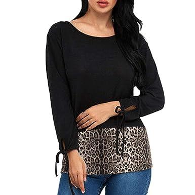 Amazon Com Padaleks Women Plus Size Blouses Womens Leopard Print T