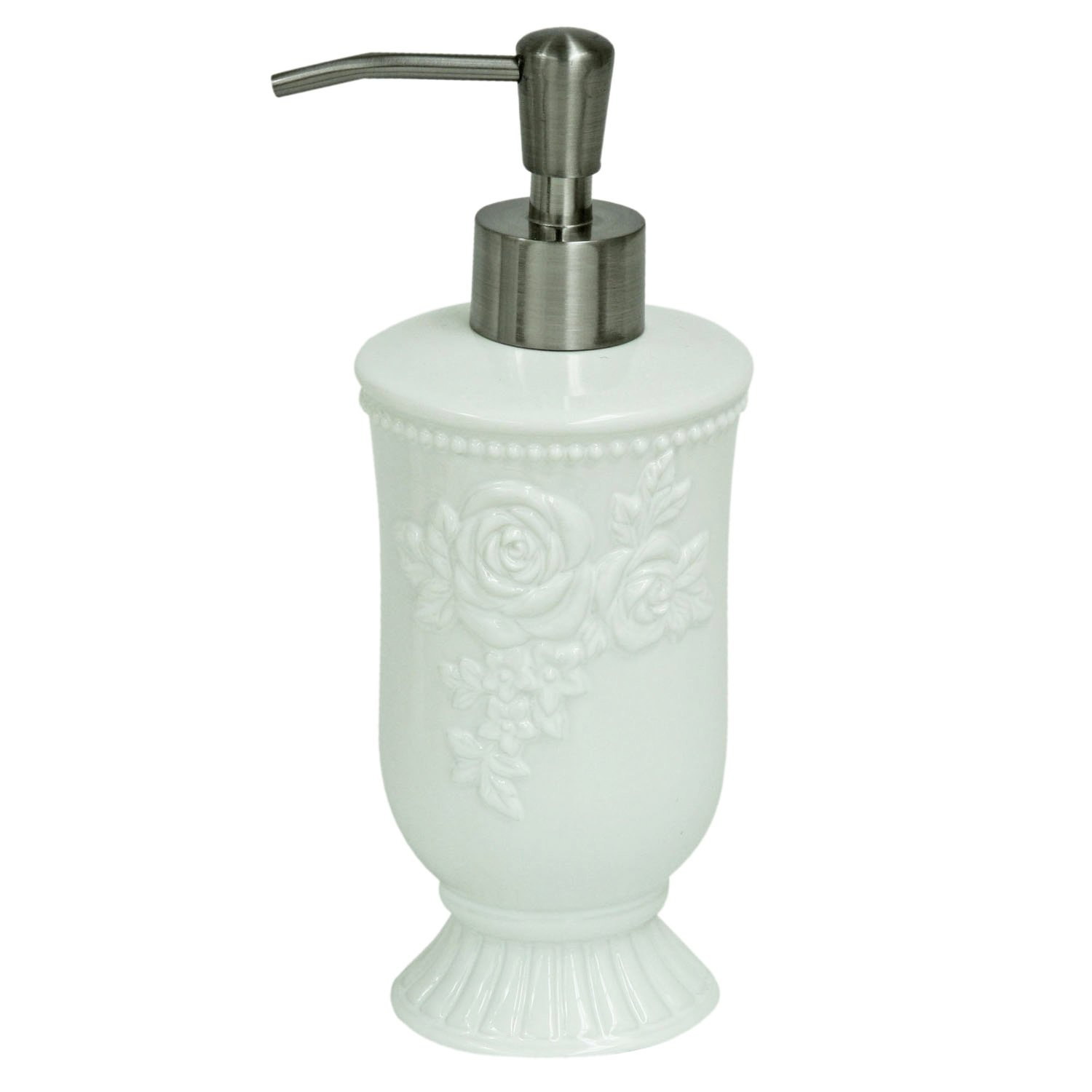 Bacova Guild Jessica Simpson Ellie Bath Accessories Lotion Dispenser
