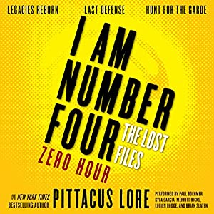 I Am Number Four: The Lost Files: Zero Hour Audiobook