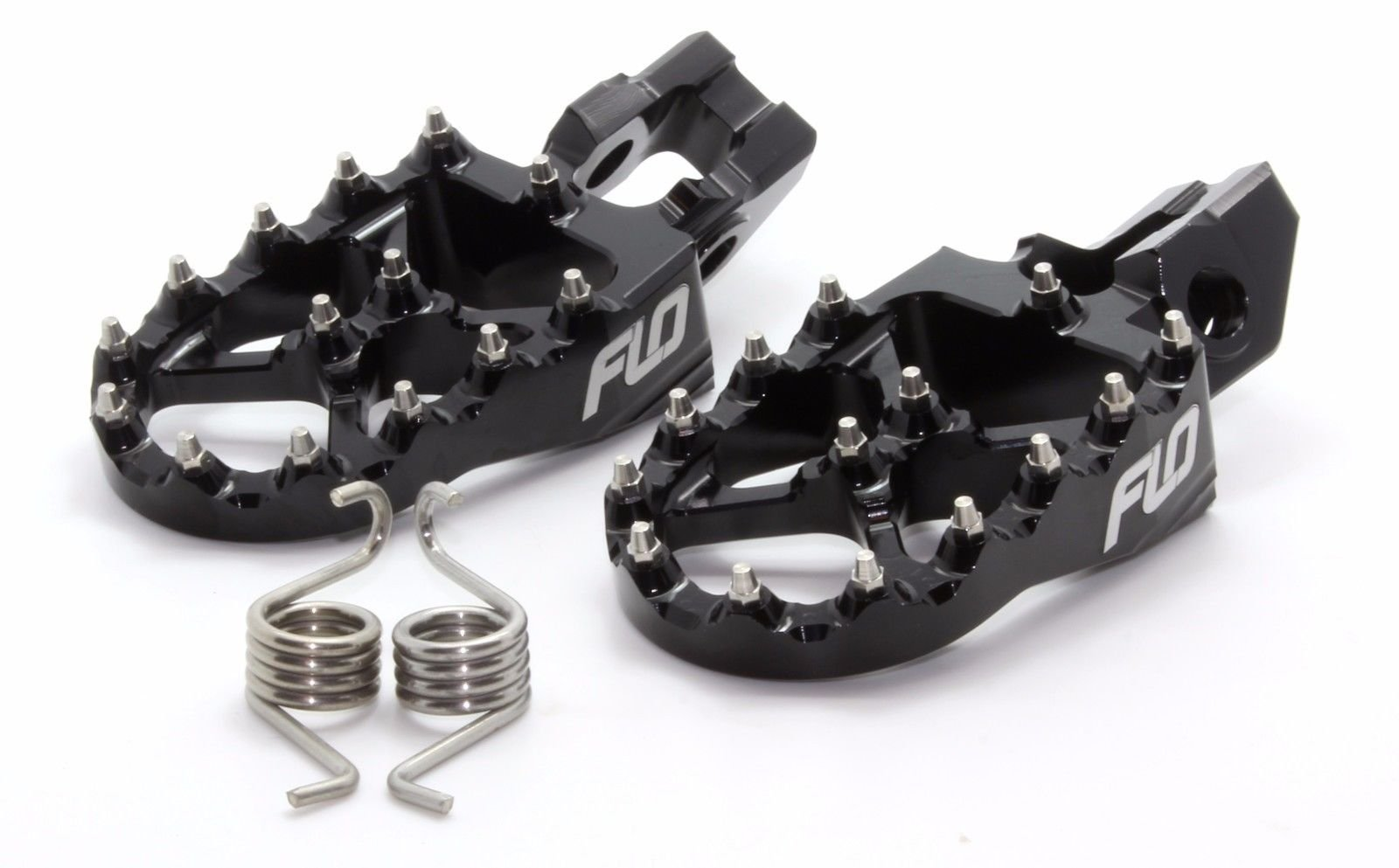 Flo Motorsports Foot Pegs for KTM 2016 2017125sx/150sx/250-450sx-f and Xc-f Black Fpeg-795-2blk