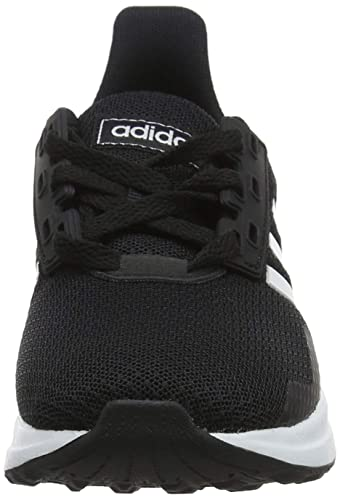9c578a537b3 Adidas Unisex's Duramo 9 K Ftwwht/Cblack Running Shoes-2 UK/India (34 EU)  (BB7061): Buy Online at Low Prices in India - Amazon.in