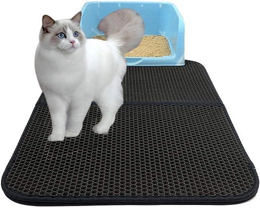 Drybely Colchoneta para Gatos, Plegable Doble Capa Impermeable ...