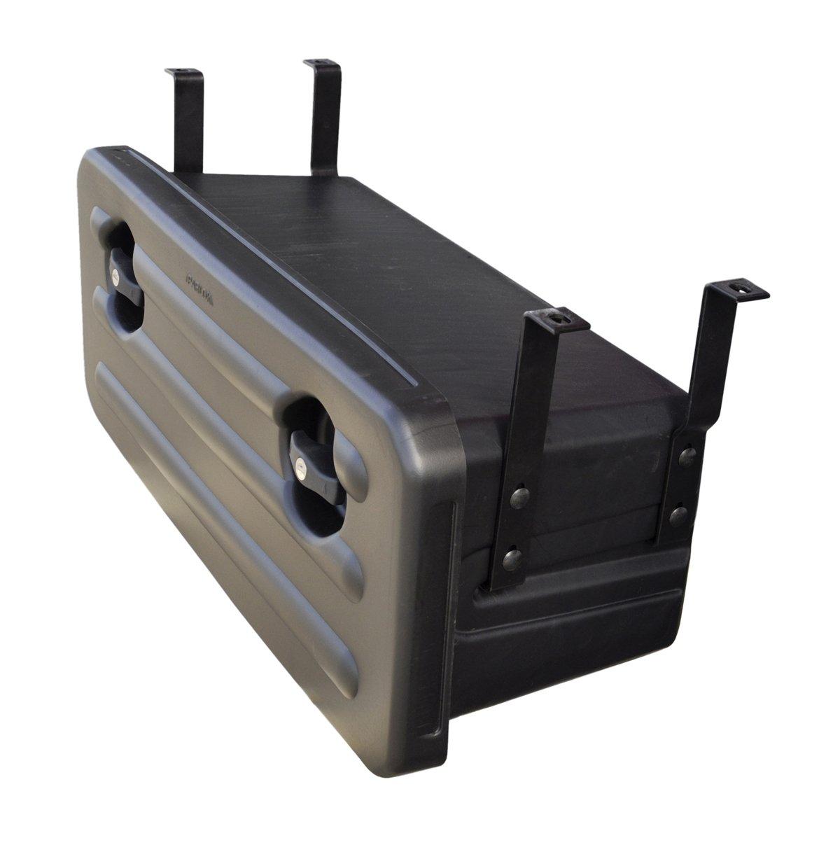 Werkzeugkasten Kunststoff mit Halter 700x300x300 f/ür Anh/änger