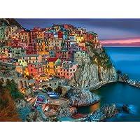 Buffalo Games - Signature Collection - Cinque Terre - 1000 Piece Jigsaw Puzzle, multi