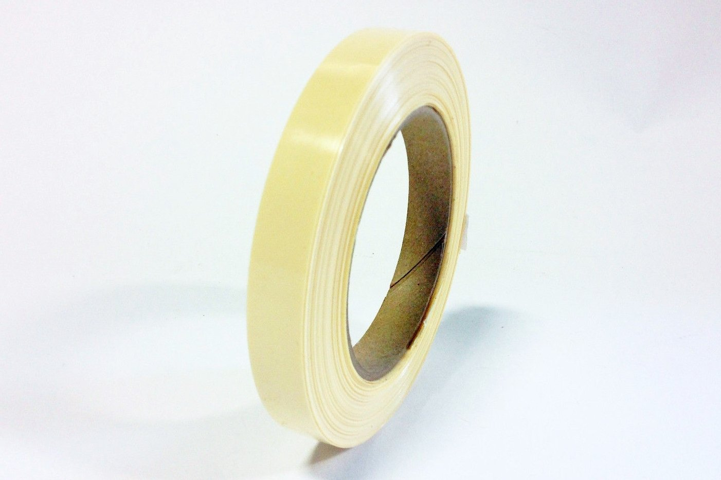 5 Rolls of Tesa 4298 Medium Duty Tensilized Non-Staining Strapping Tape - 1/2 Inch X 60 Yards - Ivory Color