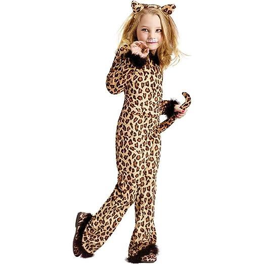 6de531b29a03 Fun World Pretty Leopard Costume, Small 4-6, Multicolor