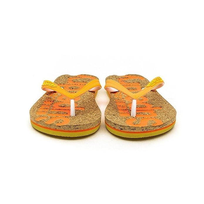 Superdry Cork Flip Flop Sandals Orange 7-8 UK: Amazon.co.uk: Shoes & Bags