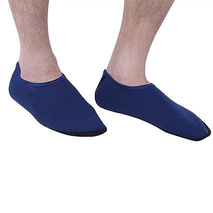 Alomejor Calcetines de Snorkel con Calcetines de Agua para Mujeres adecuados para Nadar, Voleibol de