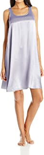 product image for PJ Harlow Satin and Rib Nightgown Lindsay - PJD1S