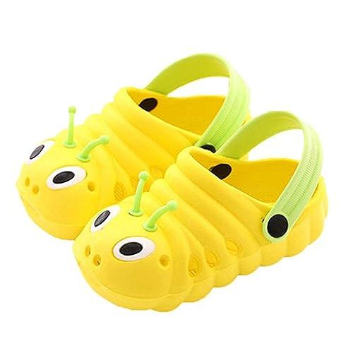 Sandalias Unisex Niños Respirable Malla Zapatillas Verano Zuecos Antideslizante Piscina Jardín Zapatos: Amazon.es: Zapatos y complementos