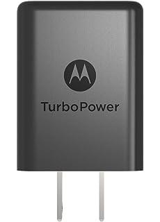 Motorola SPN5970A TurboPower 15+ QC3.0 Turbo Charger for Moto E5 Plus,E5
