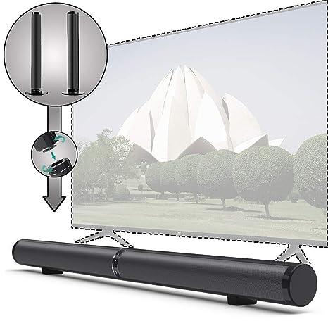 Mobile Porta Tv Con Audio Surround Integrato.Bluetooth Wireless Tv Bar Audio Con Split Integrato Ea Parete Tre