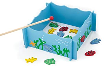 Viga Toys 56305 Magnetic Fishing Game Amazon Co Uk Toys Games