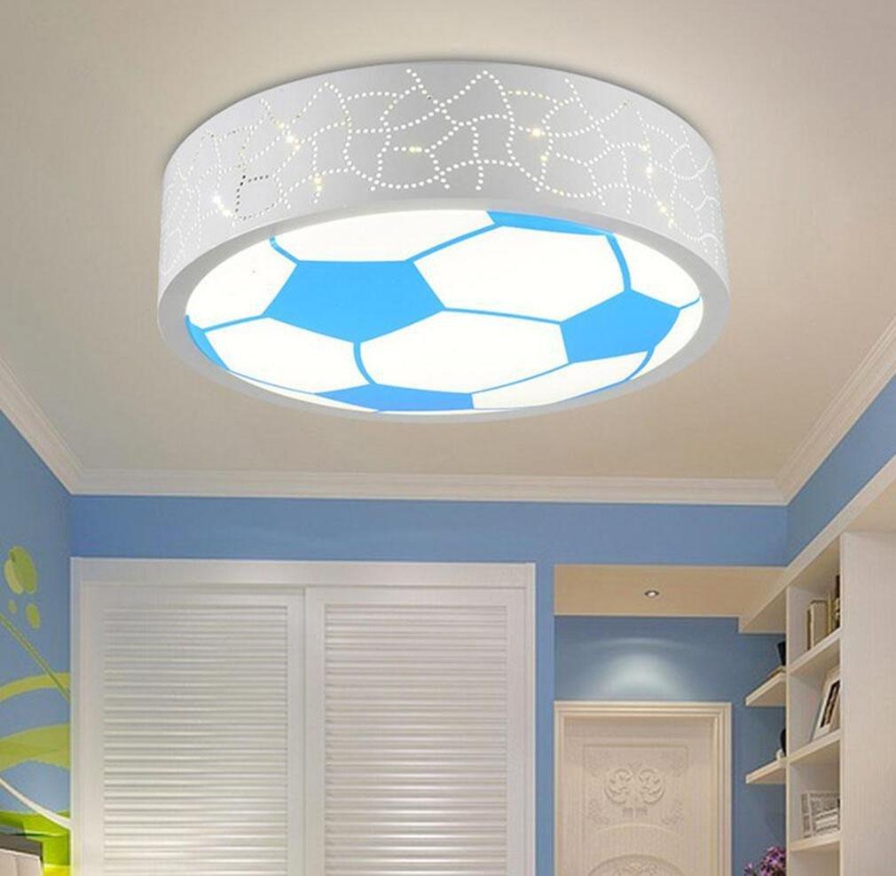 GFFORT Kinderzimmerlampe LED-Deckenleuchte für Jungen und Mädchen und einladende Räume Licht Energie Karikatur Licht