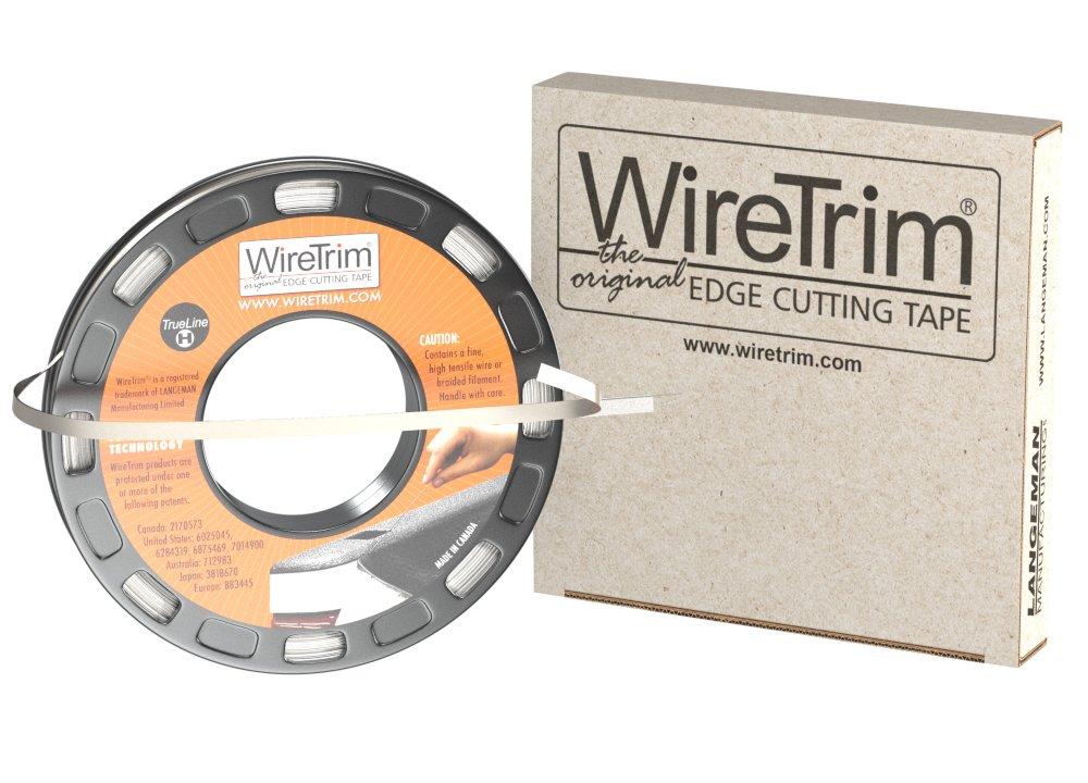 WireTrim, TrueLine (Heavy Duty), Edge Cutting Tape, 1/4-Inch X 100 Feet, 1 Roll, 883662001208 by WireTrim