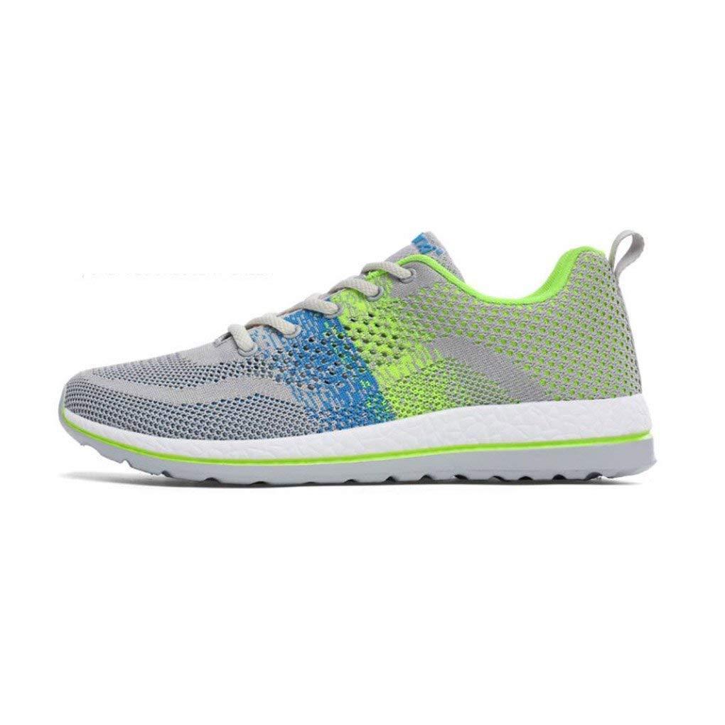 Herren Turnschuhe, Outdoor-Schuhe, Mesh Atmungsaktive Schuhe, Studenten Breathable Spring Schuhe, Koreanische Mode Schuhe, Koreanische Version Laufschuhe (Farbe   E, Größe   40)