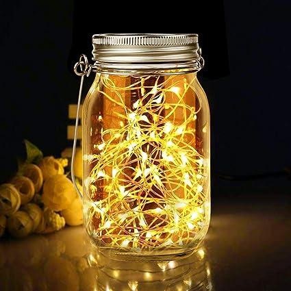 Lámparas solares para exterior, cristal solar de Nasharia, lámpara ...