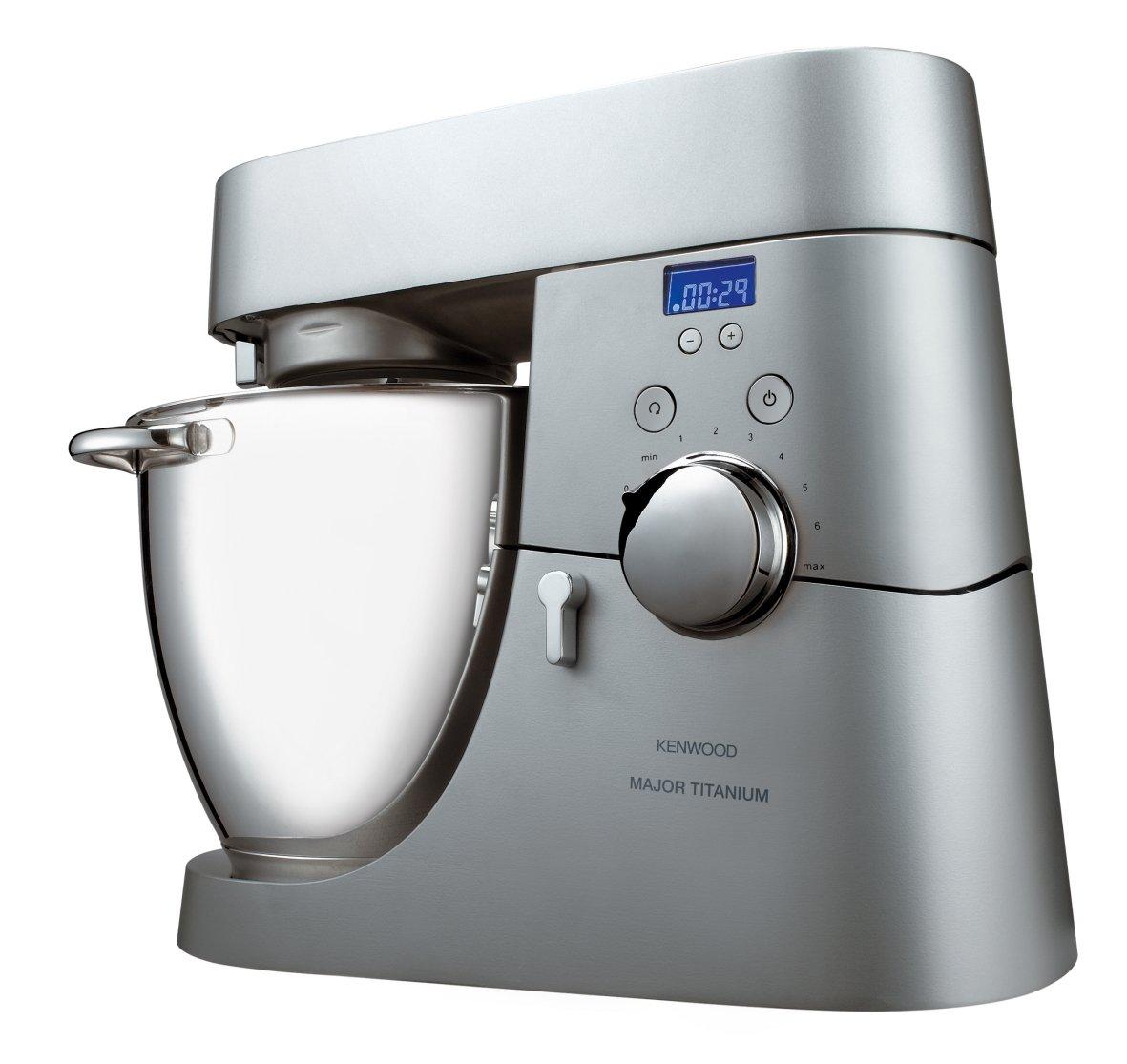 Kenwood KM040 CHEF MAJOR TITANIUM Kitchen Machine: Amazon.it: Casa e ...