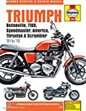 H4364 2001-2015 Triumph Bonneville T100 Speedmaster America Thruxton Scrambler Motorcycle Repair Manual