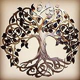 Metal Art of Wisconsin Keltic Tree of Life Metal Art 3-Foot