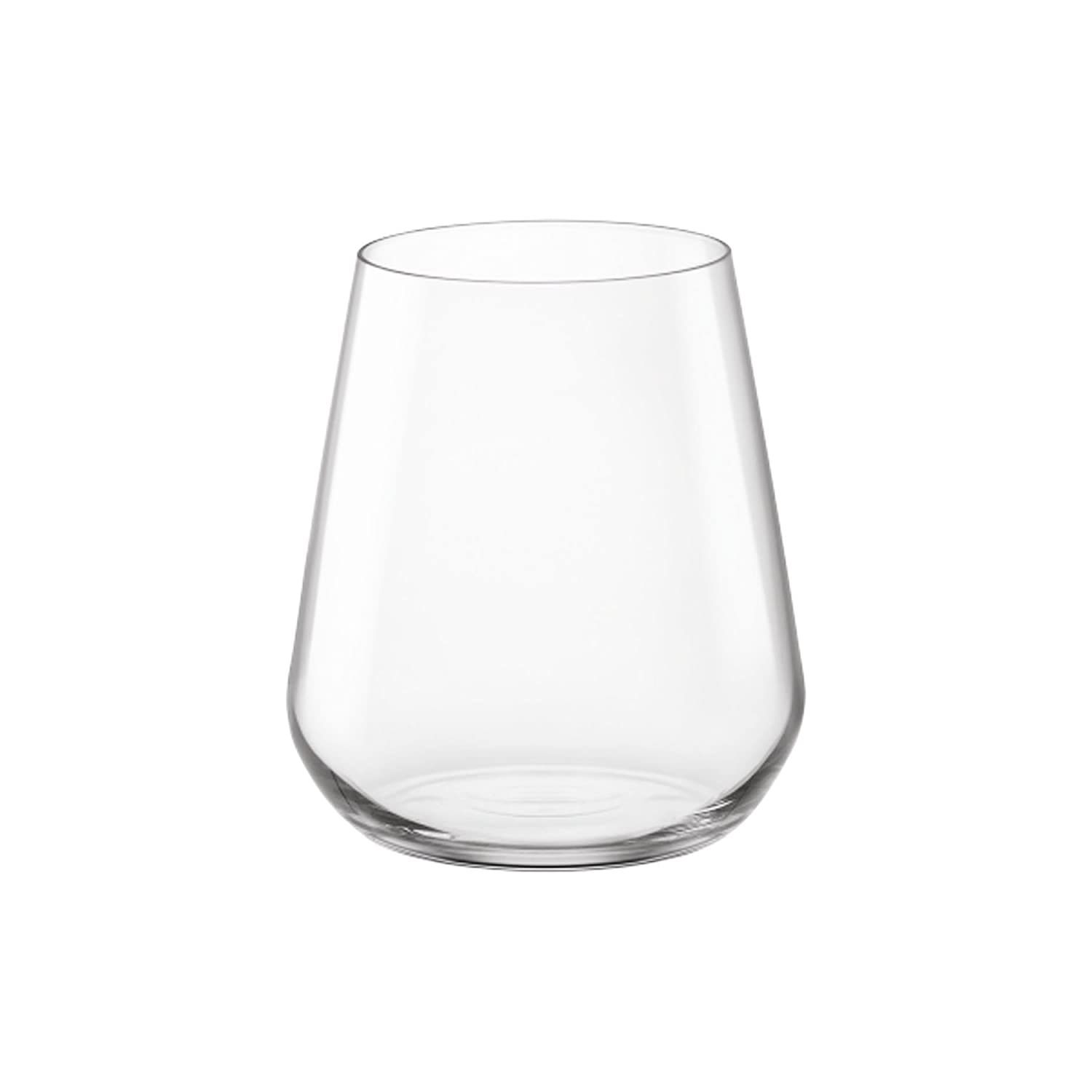 Bormioli Rocco InAlto Set of 6 D.O.F. Glass Water Tumblers 0.45 cl 3.65750 1334544