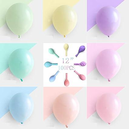 Globos De Fiesta De Brontothere En Colores Pastel De 12 0 In 100 Globos De Cumpleaños Para Niños Toys Games