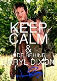The Walking Dead Tv Print (11.7 X 8.3) Daryl Dixon Norman Reedus Keep Calm
