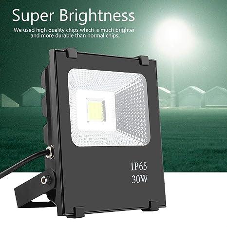 Foco LED, 20 W/30 W/50 W, foco LED de exterior, foco de luz ...