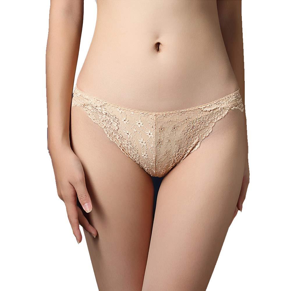 Nightaste Womens Lace G-String Thong Panties Assorted Cute T-Back Tanga Lingerie Underwear