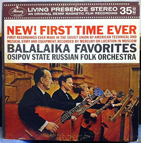Price comparison product image Osipov State Russian Folk Orchestra: Balalaika Favorites LP VG++ Canada Mercury