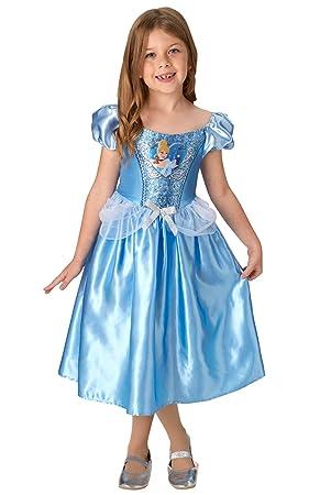 Rubies Disfraz clásico de Cenicienta con lentejuelas de princesa ...