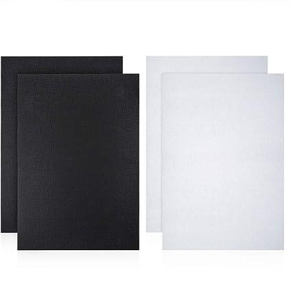 4 PCS 14 Count White Classic Reserve Aida Cloth Cross Stitch Cloth 12 by 18 Inch