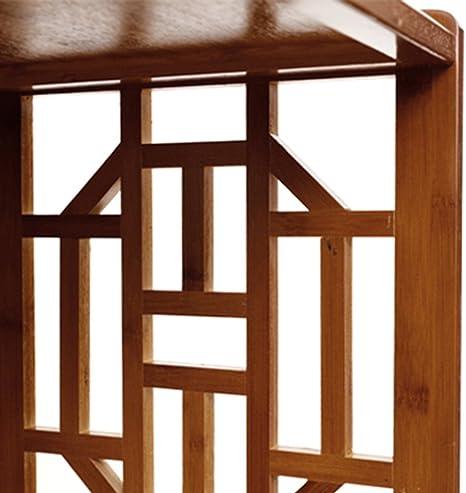 Biblioteca Sexy Simple Estante de bambú Retro Livingcase 3/3/4/5-level Marrón (Tamaño : 70 * 29 * 70cm): Amazon.es: Hogar