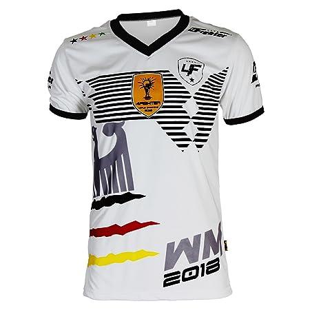 4Fighter Germany Trainings Shirt weiß Atmungsaktiv