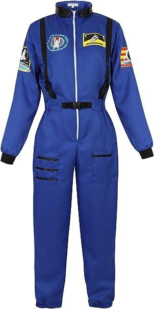Amazon.com: Haorugut - Disfraz de astronauta para mujer ...