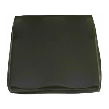 Ortotex - Cojín Viscoelástico Anatómico, Negro, 42 x 42 x 7.5 cm