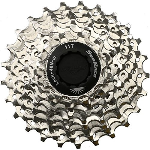 SunRace 9 Speed Road Bike Cassette (Shimano or Sram) 11-25 ()