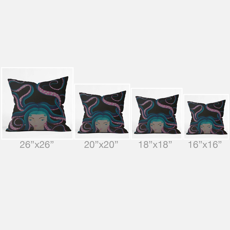 20 x 20 13750-thpo20 Deny Designs Mandy Hazell Gentleman Giraffe Throw Pillow