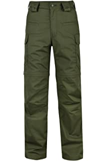 179ae25f763 HARD LAND Men s Convertible Hiking Pants Waterproof Lightweight Zip-Off  Outdoor Ripstop Cargo Shorts Elastic