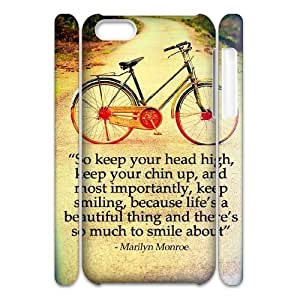 CSKFUPersonalized Phone Case with Hard Shell Protection for iphone 6 5.5 plus iphone 6 5.5 plus 3D case with Marilyn Monroe Quotes lxa#909709
