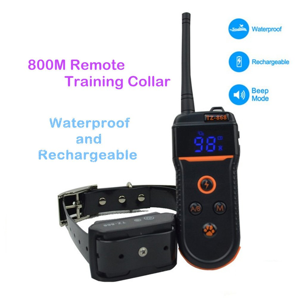 Anti Stop Barking Remote Dog Training Collar Safe for Training Your Dogs