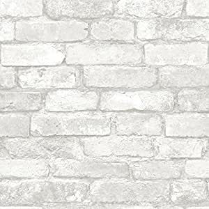 Permalink to Nuwallpaper White Brick