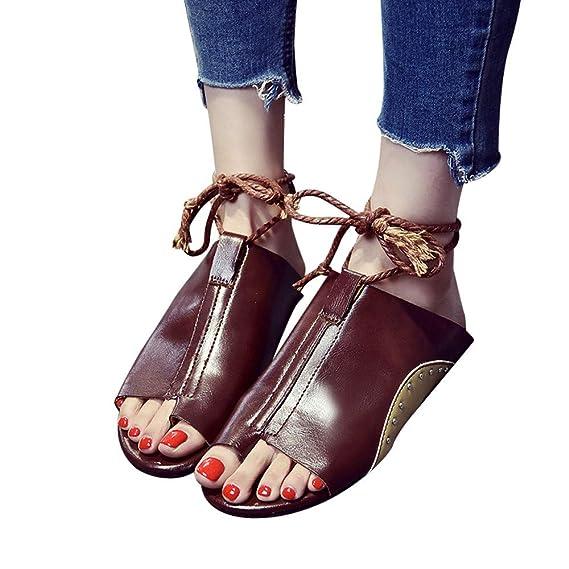 Sandalias Zapatos Cuñas Alto Mujer Plataforma Con Tacón Verano De rzrFq0