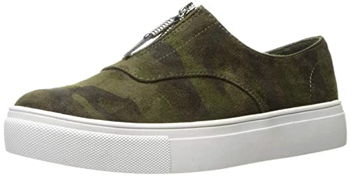 b60236a322d3 Madden Girl Womens Kudos Low Top Zipper Fashion Sneakers, Camouflage, Size  9.5: Buy Online at Low Prices in India - Amazon.in