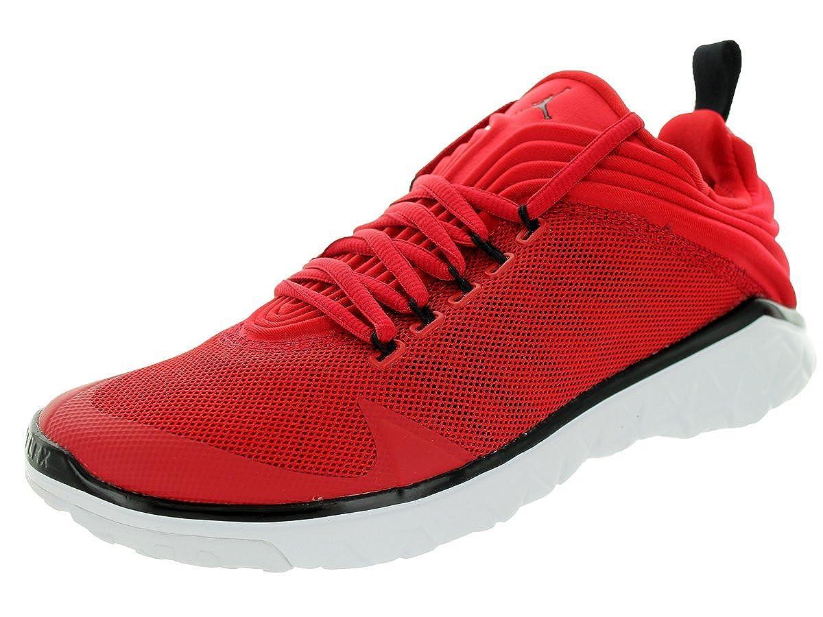 wholesale dealer e1cd3 2b806 Jordan Nike Men's Flight Flex Trainer Gym Red/Black/White Training Shoe  11.5 Men US