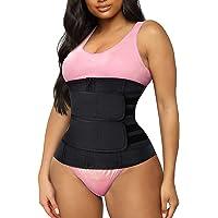 Waist Trainer Belt for Women Trainer Belt Waist Slimming Body Shaper Belt Shaper Sports Girdles Trimmer Belt for Women…