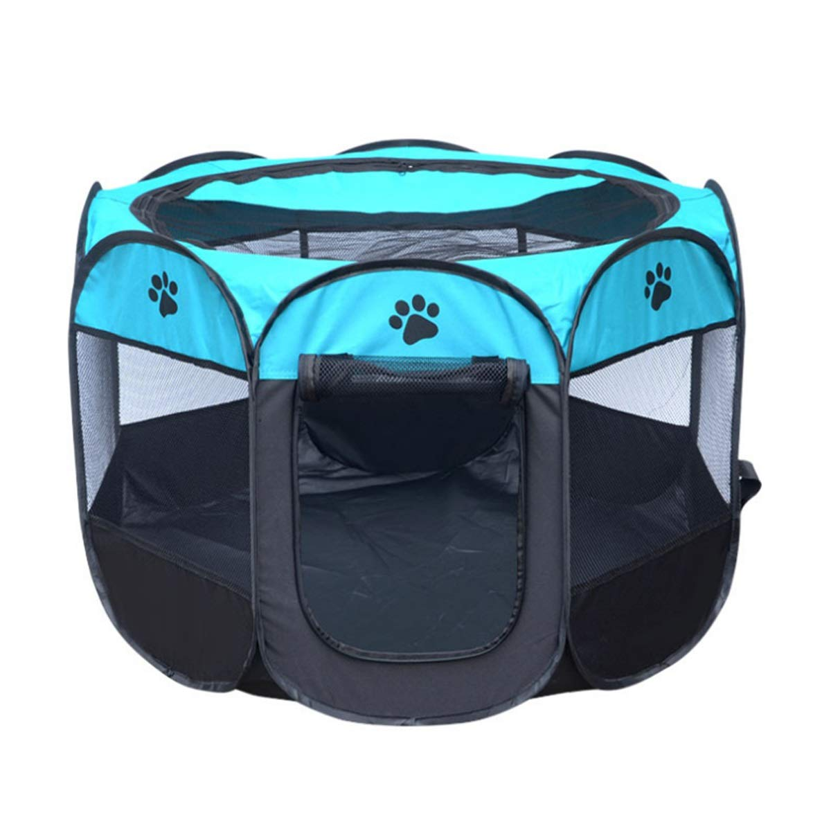 Fishagelo Pet Dog Exercise Kennel Cat Portable Foldable Pen Dog Kennel House Travel Tent Pet Supplies Fishagelo
