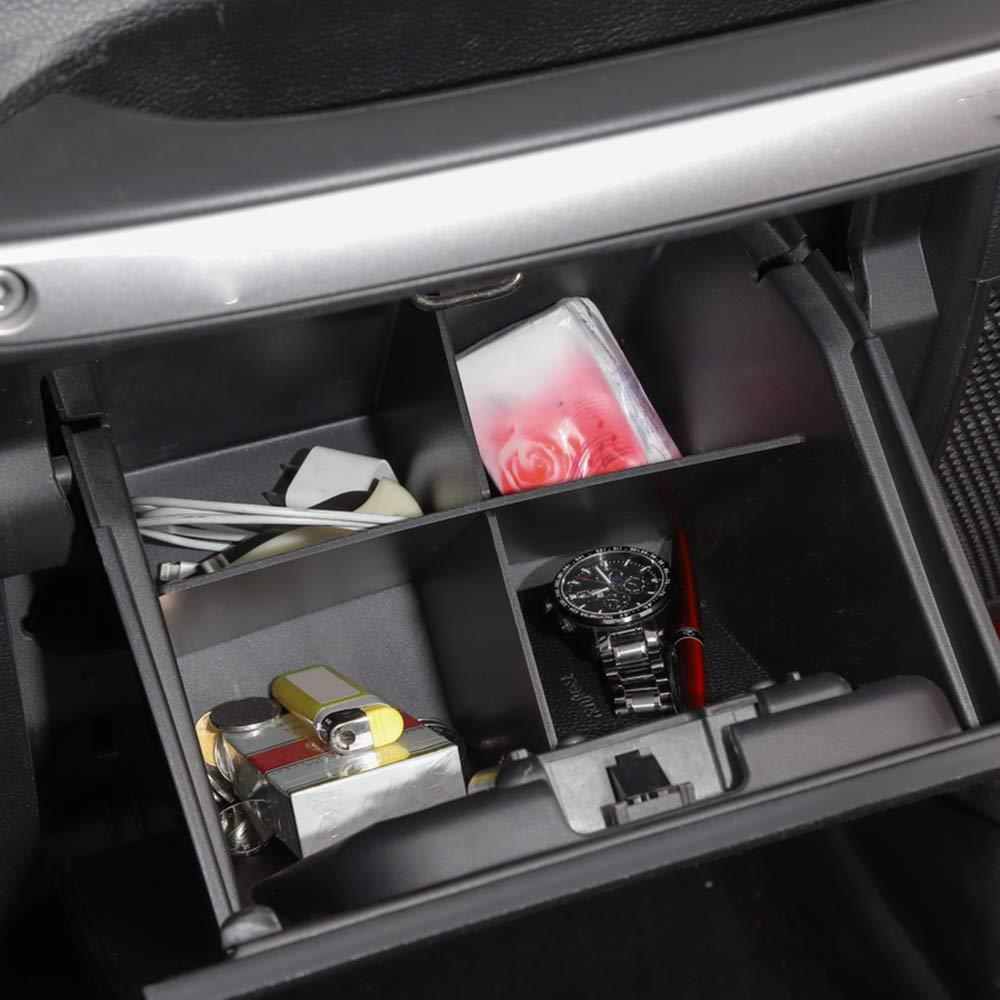 Godyluck Organizador de Caja de Almacenamiento copiloto Apto para Jeep Wrangler JK 2011-2017